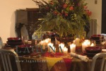 Tumbler & Votives for holiday dining